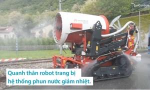 [Video] Robot cứu hoả điều khiển từ xa ở Đức