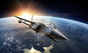 [Video] Cảnh MiG-31 bay ở rìa không gian