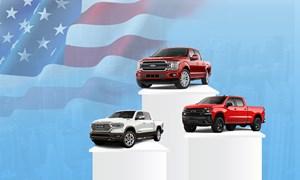 [Infographics] 10 ôtô bán nhiều nhất ở Mỹ nửa đầu năm 2020