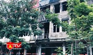 [Video] Cháy nổ tại nhà ở kết hợp kinh doanh: