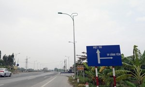 Gần 800 tỷ đồng mở rộng Quốc lộ 2 đoạn Vĩnh Yên- Việt Trì