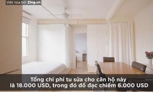 [Video] Thiết kế căn hộ 22 m2 đủ không gian riêng tư cho cả gia đình