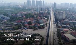 [Video] Đào ga ngầm đường sắt Nhổn - ga Hà Nội