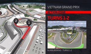 [Video] Trường đua F1 Hà Nội dần thành hình