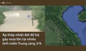 [Video] Miền Trung mưa lũ