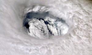 [Video] Phi công Mỹ mạo hiểm bay vào mắt bão