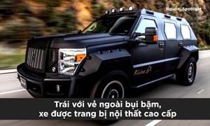 [Video] Những loại xe bọc thép, bom đạn không thể xuyên qua