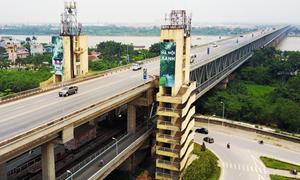 [Infographics] Cầu Thăng Long đã phải đại tu, sửa chữa bao nhiêu lần?