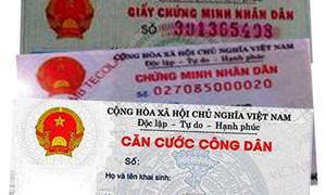 Những trường hợp nào được miễn, không phải nộp lệ phí cấp căn cước công dân?