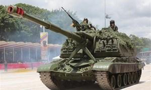 [Video] Cận cảnh Venezuela tập trận gần biên giới với Colombia