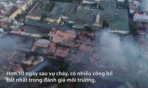 [Video] Vụ cháy Công ty Rạng Đông: Hai dạng thuỷ ngân phát tán ra môi trường
