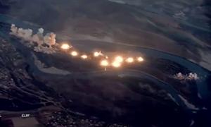 [Video] F-15 và F-35 Mỹ dội 36 tấn bom chôn vùi mục tiêu khủng bố tại Iraq
