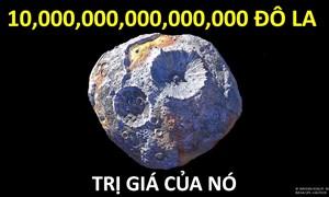 [Video] Tiểu hành tinh chứa đầy vàng