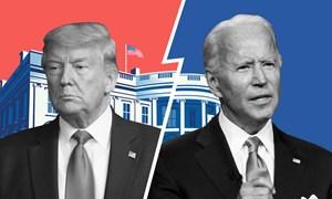 [Infographics] Đường đua đến Nhà Trắng của Trump - Biden