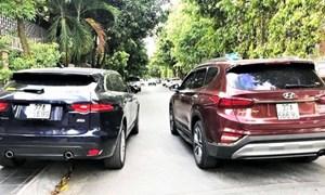 Sản xuất, bán biển số xe ô tô giả bị phạt đến 70 triệu đồng