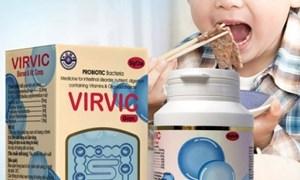 [Video] Thu hồi cốm Virvic Gran trị suy dinh dưỡng ở trẻ em