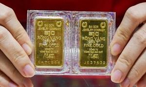 Vàng tiếp tục tăng mạnh
