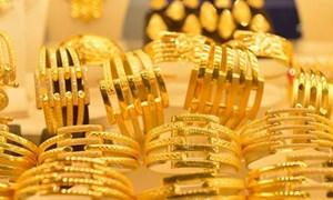 Giá vàng tiếp tục tăng nhẹ phiên đầu tuần