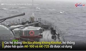 [Video] Xem tên lửa siêu thanh Nga tiêu diệt mục tiêu trên biển