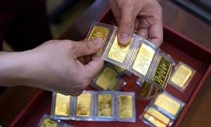 Vàng trong nước tăng phiên thứ ba liên tiếp