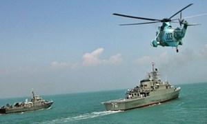 [Video] Hải quân Iran tập trận gần eo biển Hormuz