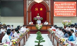 Thủ tướng Nguyễn Xuân Phúc yêu cầu chủ động ứng phó với nguy cơ hạn, xâm nhập mặn