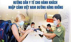 [Video] Hành khách nhập cảnh Việt Nam theo đường hàng không phải làm thủ tục gì?