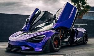 [Ảnh] Chiêm ngưỡng siêu xe McLaren 720S khoác dàn áo cực độc