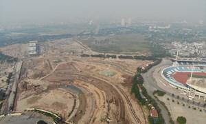 [Video] Đường đua F1 sau 6 tháng thi công nhìn từ trên cao