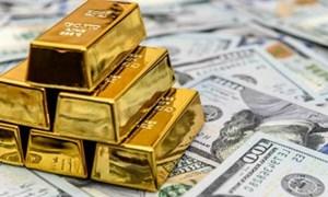Giá vàng rơi xuống mức thấp nhất trong vòng một tháng