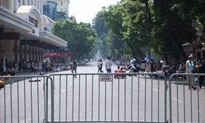 [Video] Đề xuất cấm ôtô, xe máy lưu thông quanh hồ Hoàn Kiếm