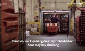 [Video] Cách hải quan sân bay Mỹ kiểm tra một triệu kiện hàng mỗi ngày