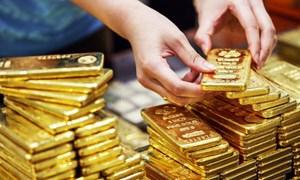 Giá vàng thế giới ổn định ở mức cao, vàng trong nước giảm nhẹ