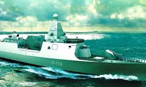 [Ảnh] Ấn Độ hạ thủy chiến hạm tàng hình cực mạnh