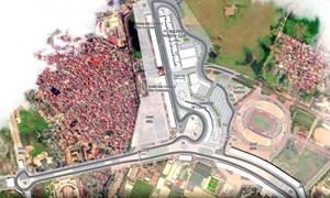 [Video] Thi công đường đua F1, Hà Nội cấm xe trên những tuyến phố nào?