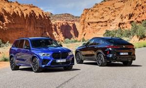 [Video] Bộ đội BMW X5 M và X6 M trình làng với khối động cơ mạnh mẽ 617 mã lực
