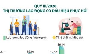 [Infographics] Quý III/2020: Thị trường lao động có dấu hiệu phục hồi