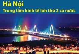 [Infographics] Hà Nội - trung tâm kinh tế lớn của cả nước