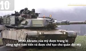 [Video] Những xe tăng được trang bị công nghệ tiên tiến trong tương lai