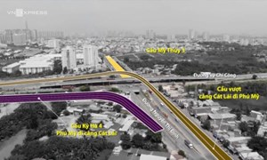[Video] TP. Hồ Chí Minh xây thêm 3 cầu trên nút giao thông Mỹ Thủy