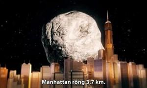 [Video] Tiểu hành tinh vận tốc 90.252 km mỗi giờ bay tới Trái Đất