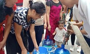 [Video] Công ty nước sạch sông Đà cấp nước trở lại