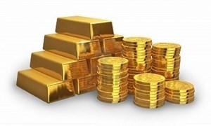 Giá vàng thế giới trầm lắng trong phiên đầu tuần