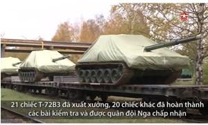 [Video] Quy trình thử xe tăng T-72B3 sau nâng cấp