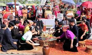 [Ảnh] Độc đáo các nghi thức sinh hoạt văn hóa của cộng đồng dân tộc Thái