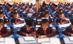 [Video] Trung Quốc lắp đặt hàng loạt thiết bị kỳ lạ giúp trẻ em không bị cận thị