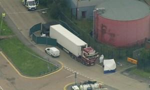 [Video] Anh: Phát hiện 39 thi thể trong xe container gây chấn động