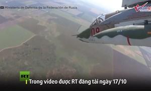 [Video] Máy bay tấn công Su-25SM3 Nga phóng rocket S-24 tiêu diệt mục tiêu