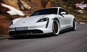 [Video] Mê mẩn với mẫu xe điện đầu tiên của Porsche, chờ đợi ngày về Việt Nam