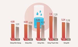 [Infographics] Những kỷ lục trong mưa lũ miền Trung